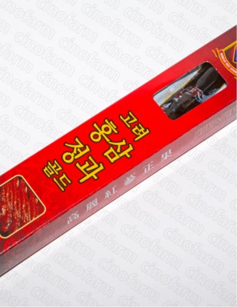 Красный корейский женьшень на меду, корень GOLD, 30 г