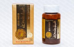 Хелгунбуллочжон - Королевский освежитель крови, 180 капсул