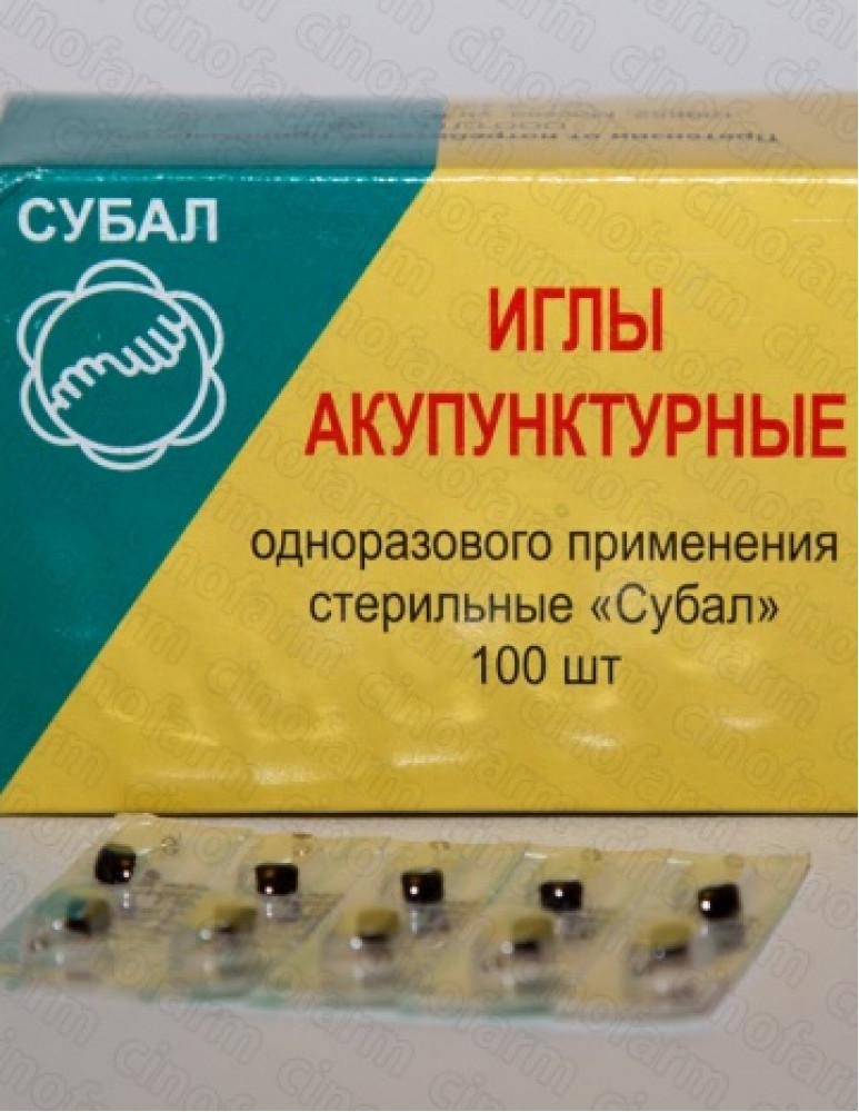 Иглы Шпажка / 0.14х7 мм