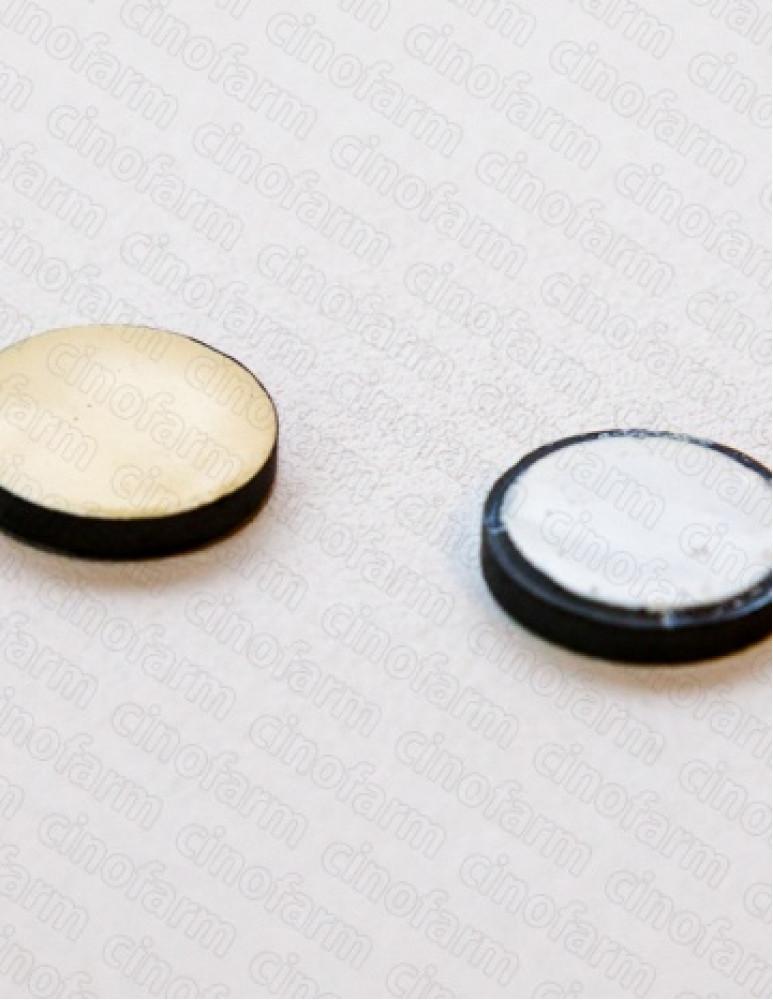 Магнит круглый корпоральный 17 мм (2 шт.)
