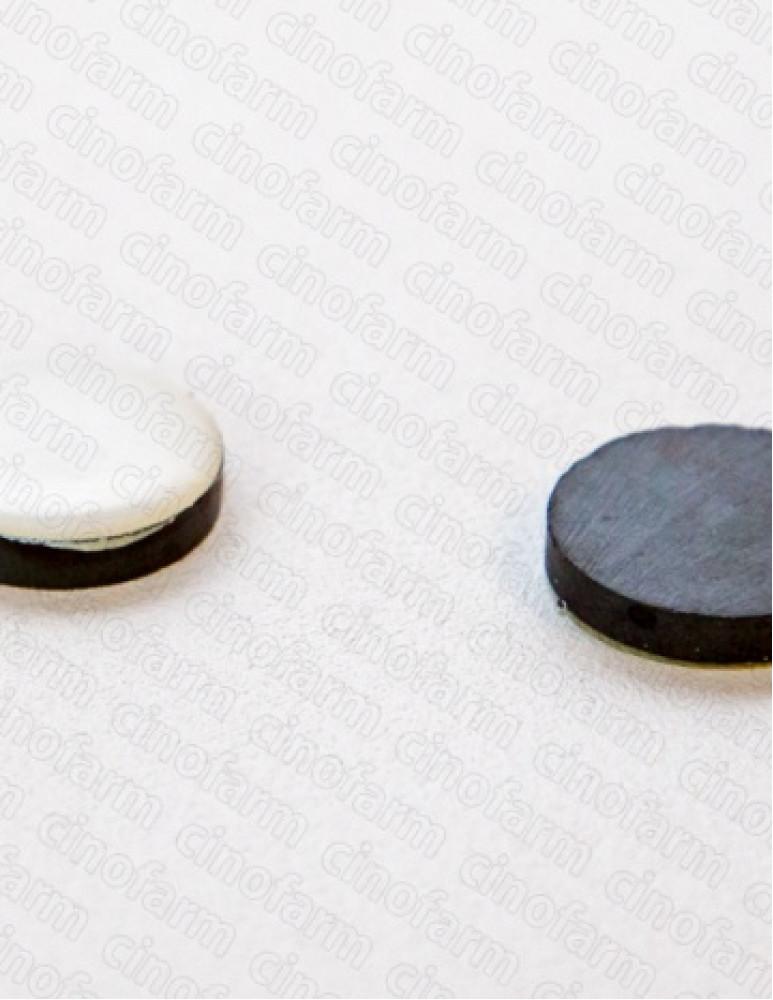 Магнит круглый корпоральный усиленный 17 мм (2 шт.)