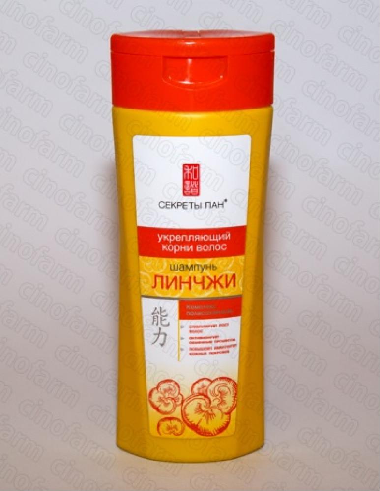 Шампунь для волос Лин Чжи, кремовый, 200 мл Секреты Лан