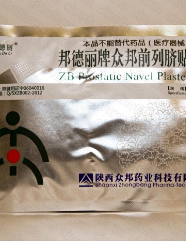 Пластырь урологический при простатите / Band De Li Prostatic Navel Plaster / 1 шт.